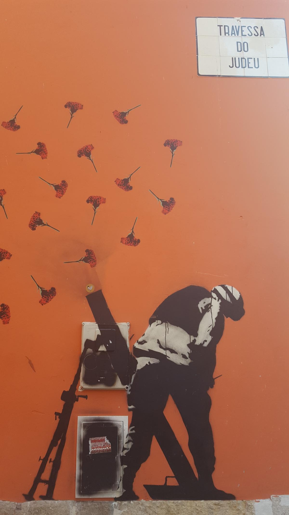 Free art in Lisbon: Street art in Graça, Alcantara and SãoBento